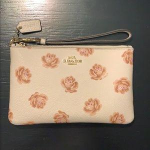 COACH Wristlet - Flowered